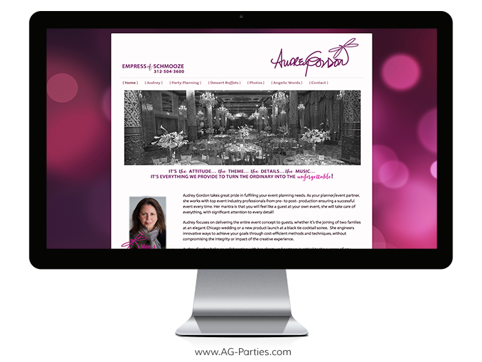 MQ-AudreyGordonParties-Website-Design-Monitor
